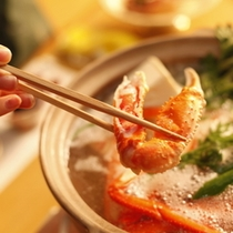 カニ鍋(松葉ガニ)