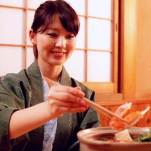カニ鍋の幸せ