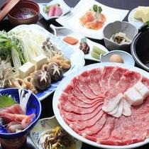 ◆ご夕食/和牛すきやき鍋膳※イメージ