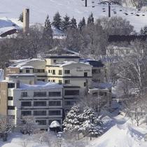 ◆ホテル外観/冬