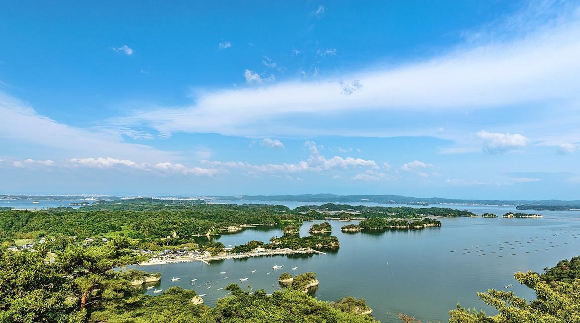 **【周辺観光】松島 夏の時期