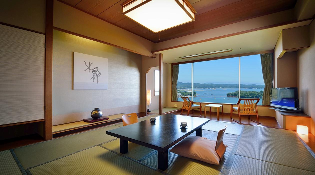 【喫煙海側和室】松風閣1F〜5F