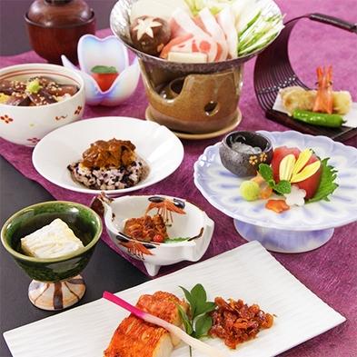 「宿泊者様限定」 こだわりの地元産食材料理堪能プラン「青龍」 「ルミエール」 「桜」