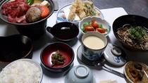 ☆贅沢☆焼肉風、和牛陶板焼き