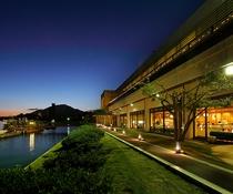 安芸グランドホテル 夜景
