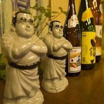 鹿児島焼酎コーナー