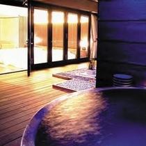 ■露天風呂付きツイン 露天風呂イメージ2