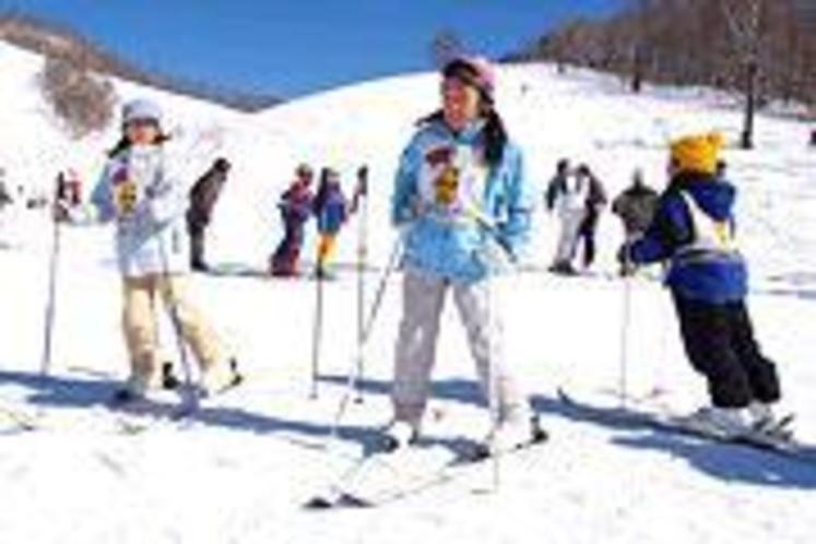 ファミリーでスキー