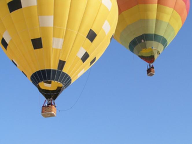 熱気球フライト