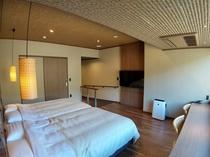 2021年3月にリニューアルした30㎡の洋室。2名様限定の眺望の良いコンパクトなお部屋です。