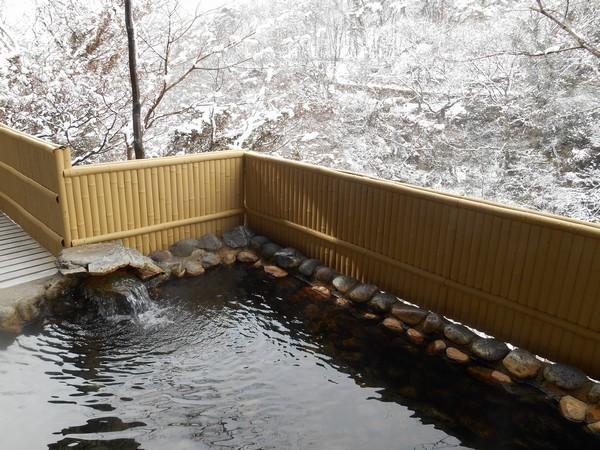 冬露天風呂