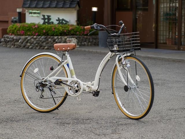無料レンタル自転車2台