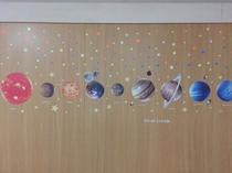 太陽系「太陽、水星、金星、地球、火星、木星、土星、天王星、海王星」