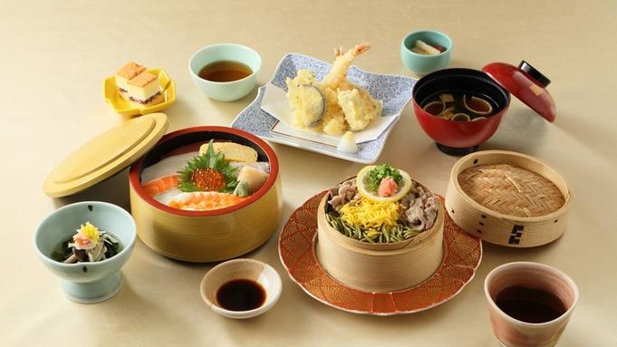 蕎麦と天婦羅がついたボリューム満点の夕食【ちらし寿司御膳】2食付プラン