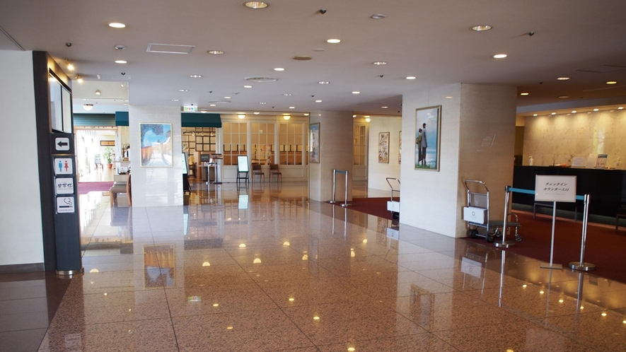 ロワジールホテル豊橋 館内ロビー