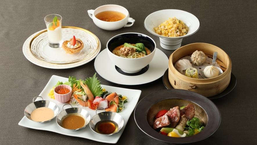 2食付プラン 中国料理【豊華楼】ローストビーフ&点心セット イメージ