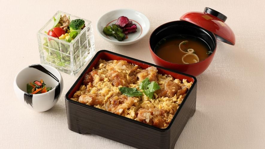 2食付プラン 日本料理【藤さわ】唐揚げ親子丼 イメージ