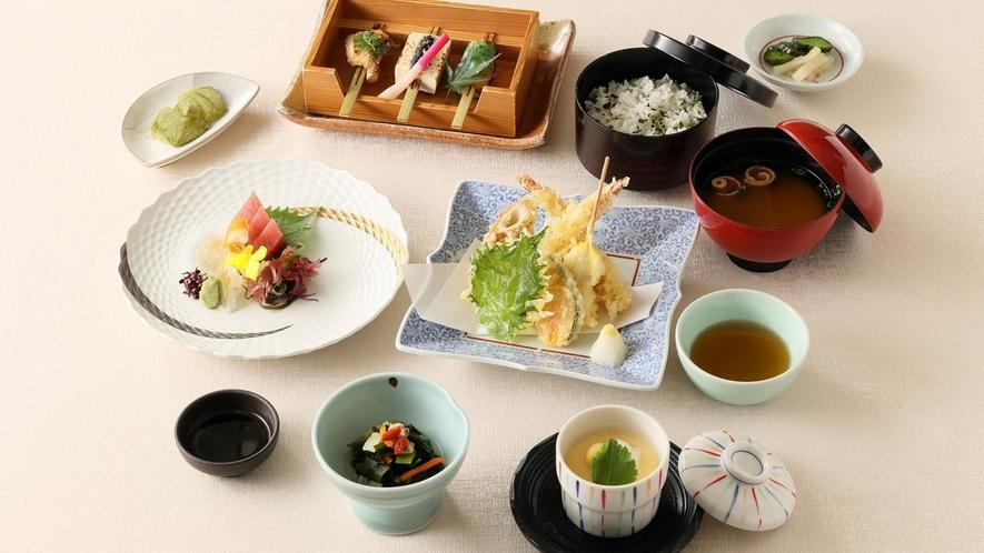 2食付プラン 日本料理【藤さわ】天婦羅お造り御膳 イメージ