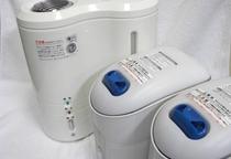 【無料貸出サービス】乾燥が気になる方に加湿器の貸し出しがございます。