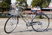 【無料貸出サービス】ちょっとしたお買い物や観光にレンタル自転車をご利用ください。