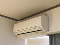 【客室】全室個別エアコン完備♪お好みの室温で快適にお過ごしいただけます♪