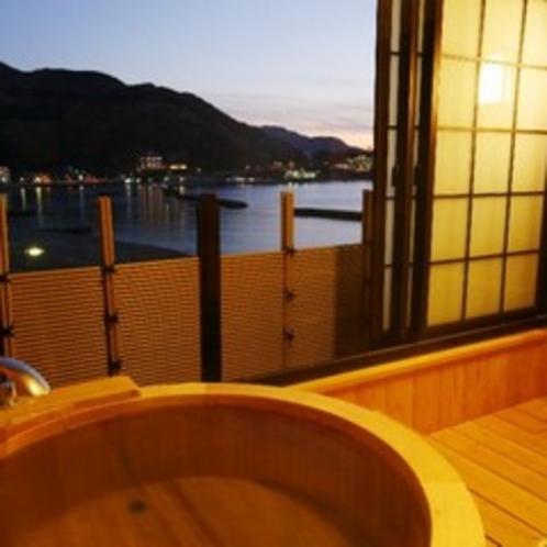 和室15帖露天風呂付き 露天風呂