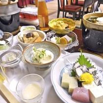 *女子旅プランのお食事。糖尿病の方にも◎。