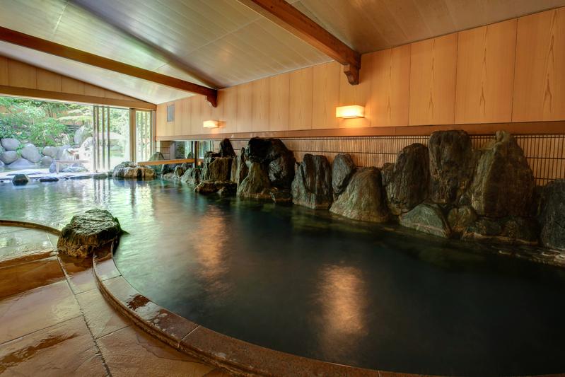 【温泉】木肌の湯「浮殿」内風呂