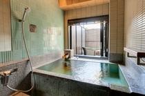 【客室】雲のねツインお風呂イメージ