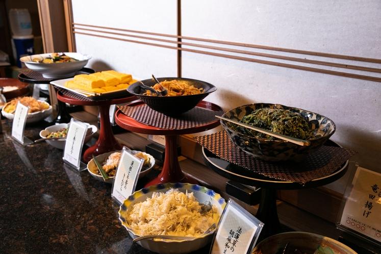 【朝食】朝食ビュッフェ