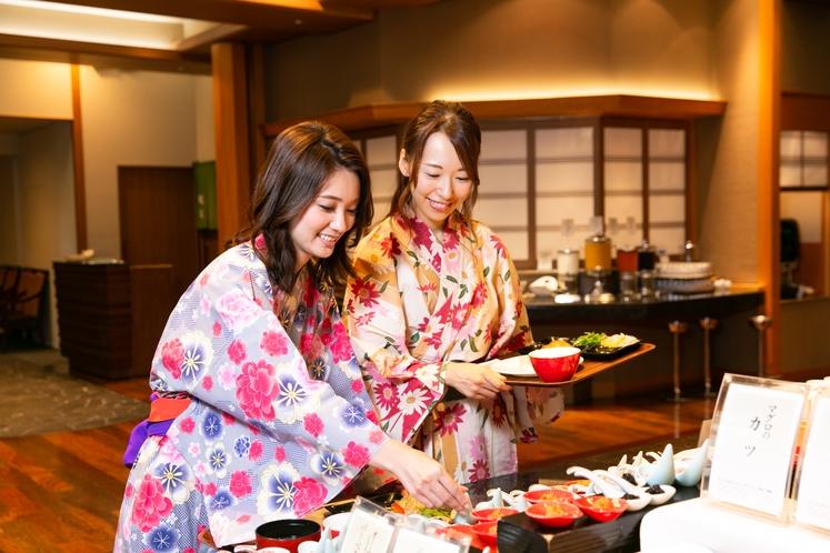 【朝食】朝食ビュッフェイメージ
