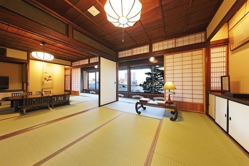 2階特別和室 「老松」(温泉付) 【禁煙】
