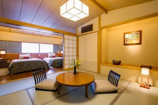 3階温泉付和洋室 「白潟」  【禁煙】