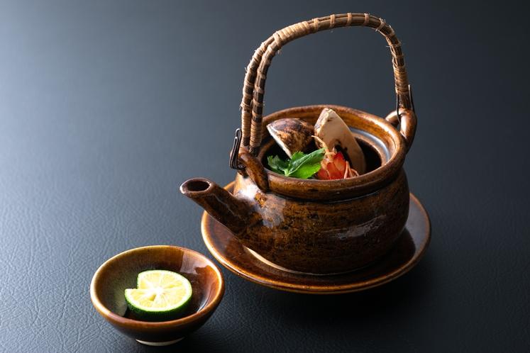 秋の味覚 松茸土瓶蒸し