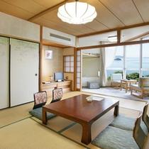 *【和室10畳】窓の外に広がる景色を見ながらのんびり♪