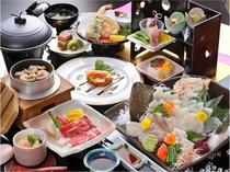 (2016.3.1~5.31)笠戸島』春の味覚宿泊プランのご夕食♪