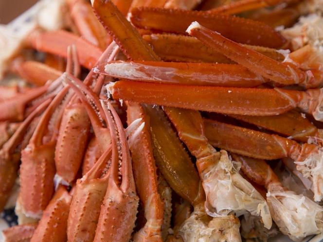 食べ放題の「茹でズワイ蟹」(イメージ)