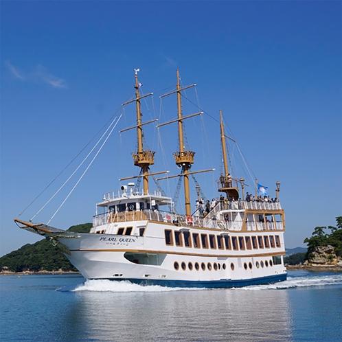 九十九島遊覧船「パールクイーン号」