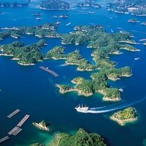九十九島の眺望