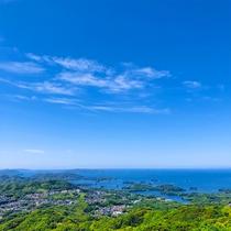 ホテルからの眺望(九十九島)