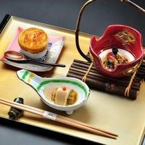 旬菜小鉢(秋)