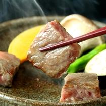 熊野牛陶板焼き