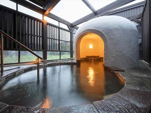 〜和洋室でのんびりとご夕食は囲炉裏で焼き物コース〜稚内温泉旅