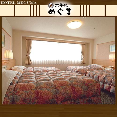 【フォースルーム】 〜4台のベッドを完備!ご家族での稚内・利尻・礼文旅行におすすめ〜