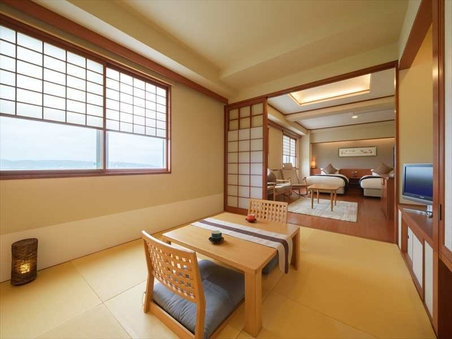 【和洋室】利尻富士側和洋室53平米禁煙