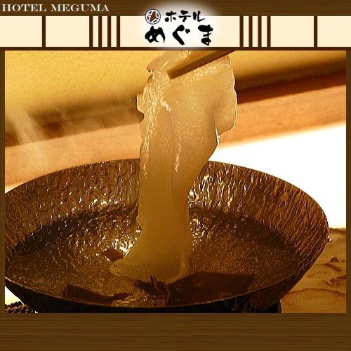 【たこしゃぶ】 〜ご夕食に稚内名物のたこしゃぶをご堪能ください!食べ応え抜群です〜