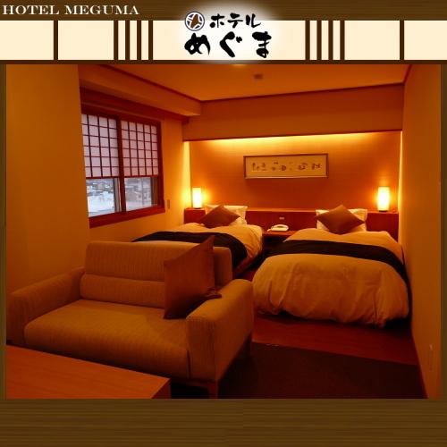【声花フロア/モダンツイン32平米】〜お部屋もいつもよりちょっぴり贅沢に!大切な方との記念日に〜
