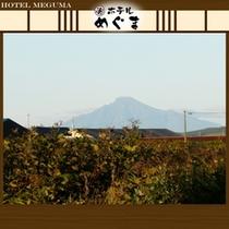 【利尻富士を望む】〜晴れて透き通った日は、利尻富士が望めます〜