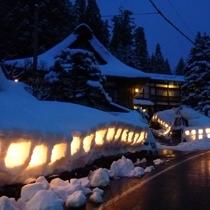 プラン用雪灯篭