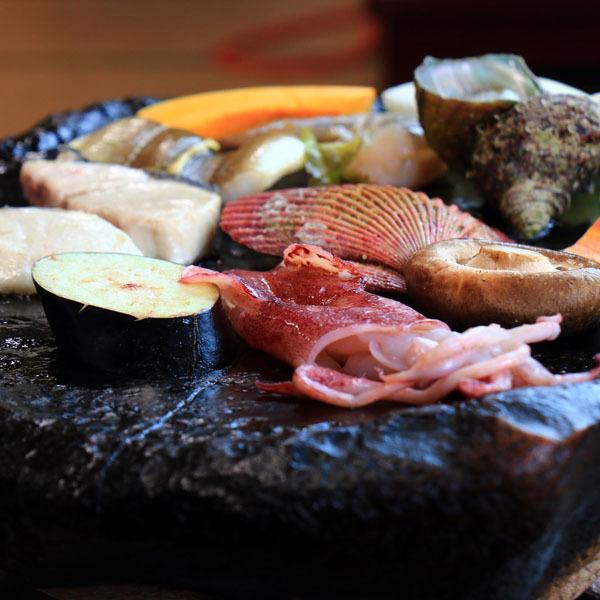 石焼料理一例